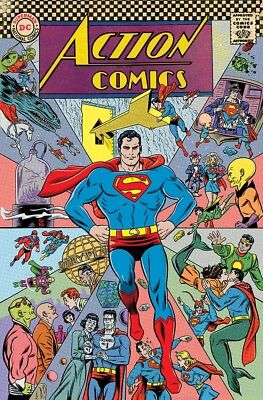 ACTION COMICS 1000 MIKE ALLRED 1960's 60's DECADES VARIANT SUPERMAN NM
