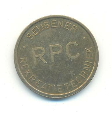 Very Nice Rare.unknown Rps.token  26Mm.very Collectable.d.139