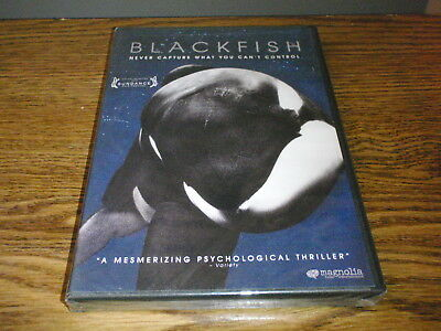 Blackfish Dvd Sealed - Authentic North American Release