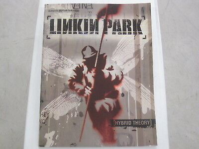 Linkin Park Hybrid Theory Sheet Music Song Book Songbook Guitar Tab Tablature