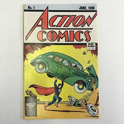 Action Comics #1 1988 Reprint Edition VF/NM 1st Appearance Superman VERY RARE!!!