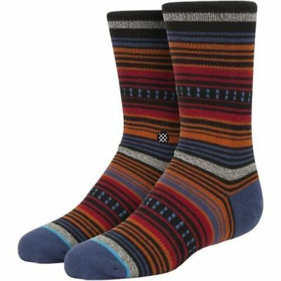 AUTHENTIC! Stance BLANKS Kids Crew Socks Youth Size L(2-5.5)