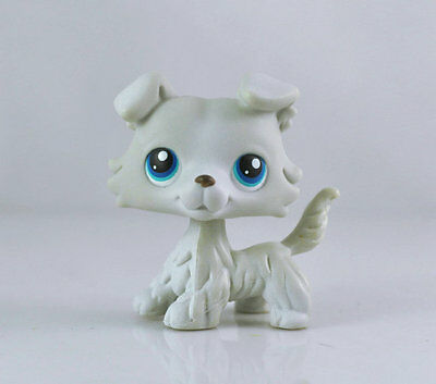 Pet Collie Dog Child Girl Figure Cute Littlest Toy Loose LPS992