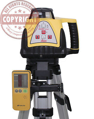 Leica Rugby 100Lr Self Leveling Rotary Laser Level, Trimble, Spectra, Topcon