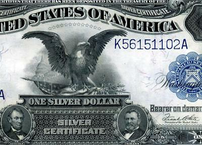 HGR FRIDAY 1899 $1 Black Eagle ((RARER Elliott/White)) HIGH GRADE