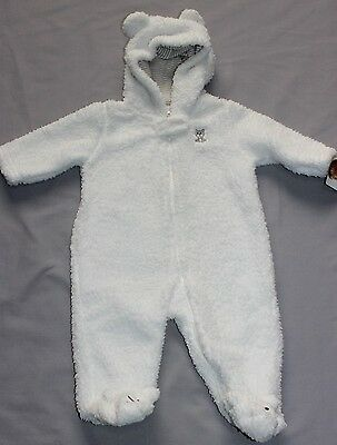 Carter's Sherpa Pram Hooded Bunting size 3 months 000 BNWT Winter