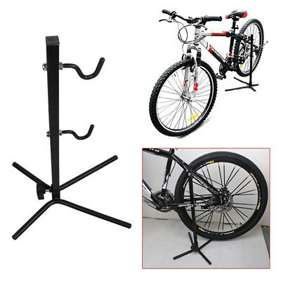 Bike Bicycle Cycling Floor Parking Rack Storage Stand Portable Instant Parking