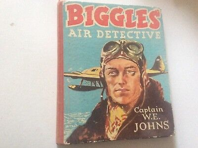 BIGGLES AIR DETECTIVE 1950 Marks and Spencer Captain W E Johns