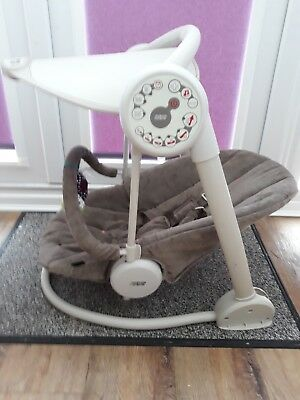 Starlite Mamas and Papas baby swing chair. Lights and sounds. Used. Very good