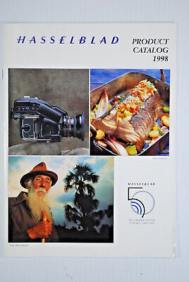 1998 HASSELBLAD CAMERA SYSTEM CATALOG BROCHURE 38 Pages