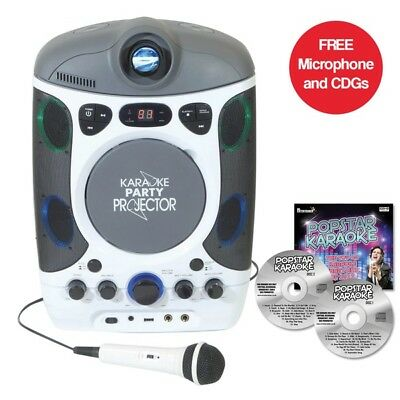 Mr Entertainer CDG Bluetooth MACHINE KARAOKE AVEC LED Projecteur & fête Lumières