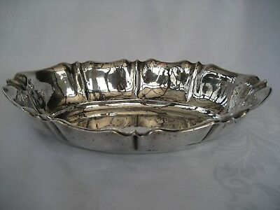 Antique German Solid Silver Fruit Bowl