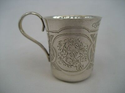 ANTIQUE RUSSIAN SILVER CUP - Moscow, 1872
