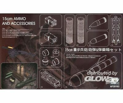 AFV-Club 35193 15cm AMMO and Accessories in 1:35