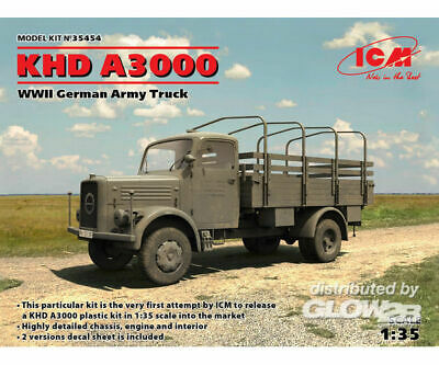 ICM 35454 KHD A3000, WWII German Truck in 1.35 NEU