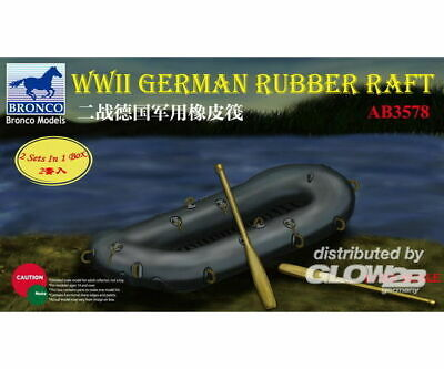 Bronco Models AB3578 WWII German Rubber Raft in 1:35