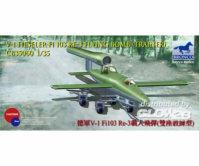 Bronco Models CB35060 V-1 Fi103 Re 3 Piloted Flying Bomb (Two Seats Trainer) in