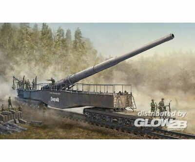Hobby Boss 82903 German 280mm K5(E) Railway Gun Leopold in 1:72
