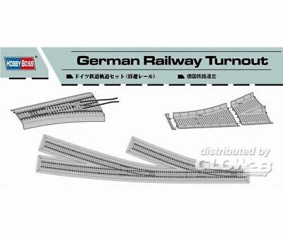 Hobby Boss 82909 German Railway Turnout in 1:72 NEU