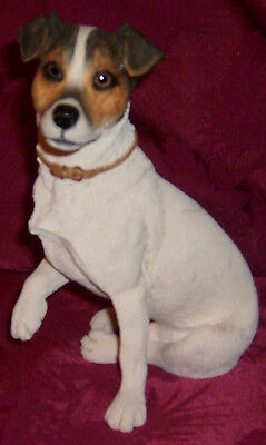 Jack Russell Terrier Sculpture by Country Artists