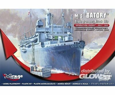 Mirage Hobby 500801 M/S Batory Troop Transporter-Attack Ship in 1:500