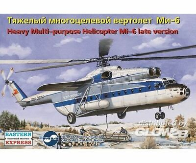 Eastern Express 14508 Mil Mi-6 Russian heavy multipurpose helicopter,late versio