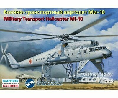 Eastern Express 14509 Mil Mi-10 Russian military transport helicopter in 1:144 N