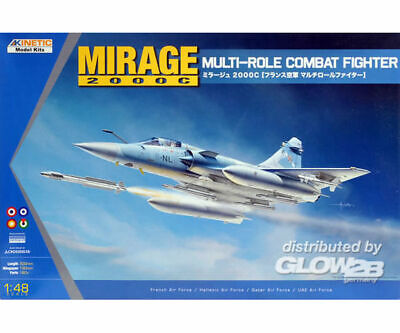 KINETIC K48042 Mirage 2000C Multi-role Combat Fighter in 1:48