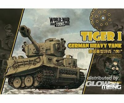 MENG-Model WWT-001 German Heavy Tank Tiger I NEU