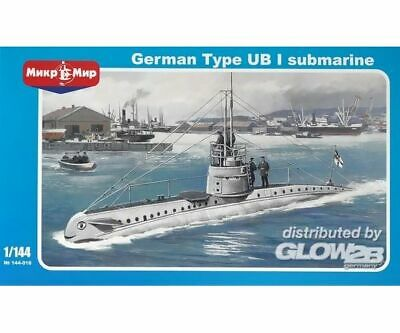Micro Mir AMP MM144-016 German submarine UB-1 Type in 1:144