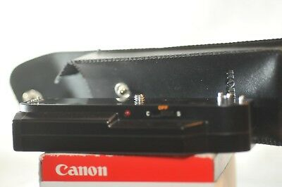 Canon power winder A2 w/ case for FD A1 AE-1 Program working tested noisy gears