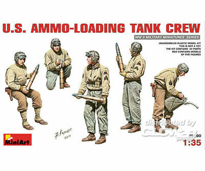 MiniArt 35190 U.S.Ammo-Loading Tank Crew in 1:35