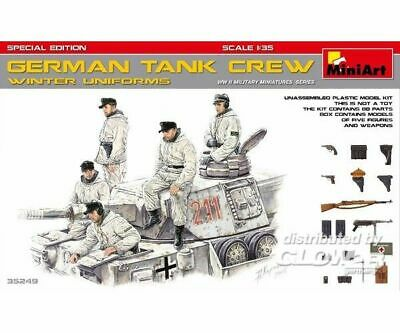 MiniArt 35249 German Tank Crew (Winter Uniforms)Specia Edition in 1:35