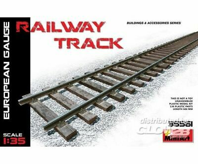 MiniArt 35561 Railway Track (European Gauge) in 1:35