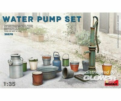 MiniArt 35578 Water Pump Set in 1:35 NEU