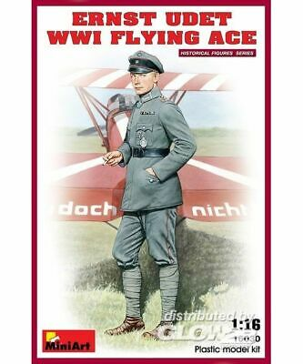 MiniArt 16030 Ernst Udet WW1 Flying Ace in 1:16 NEU