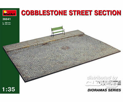 MiniArt 36041 Cobblestone Street Section in 1:35