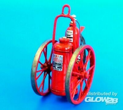 Plus model AL4074 Extinguisher wheeled 150LB in 1:48