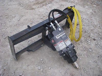 Bobcat Skid Steer Attachment - Danuser EP 6 Hex Auger Drive Unit - Ship $199