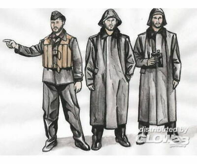 CMK 129-F72250 U-Boat U-IX Crew with Raincoats f.Revell in 1:72