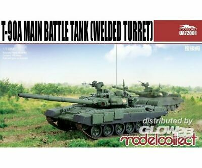 Modelcollect UA72001 T-90A Main Battle Tank (welded turret) in 1:72