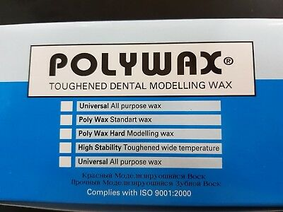 Polywax – 500 Gr. Toughened Dental Modelling Wax Dental Implant