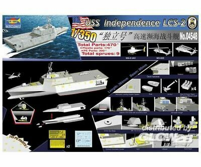 Trumpeter 4548 USS Independence (LCS-2) in 1:350