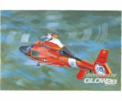 Trumpeter 5107 US Coast Guard HH-65C Dolphin Helicopter in 1:35 NEU