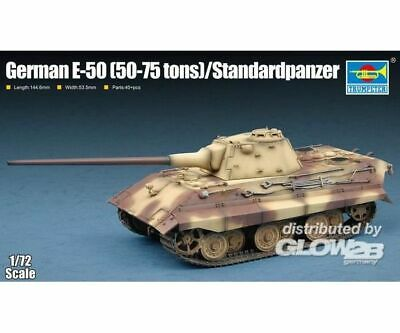 Trumpeter 7123 German E-50(50-75 tons)/Standardpanzer in 1:72