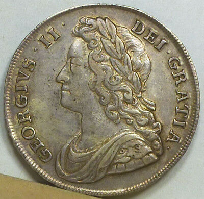 Great Britain Half Crown 1741 VF/Extremely Fine