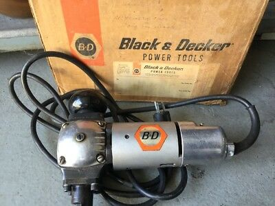 Black & Decker 632 type b 16 gauge medal nibbler, look