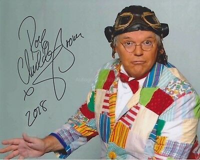 Roy 'Chubby' Brown Hand Signed 8x10 Photo Autograph Comedian, Royston Vasey