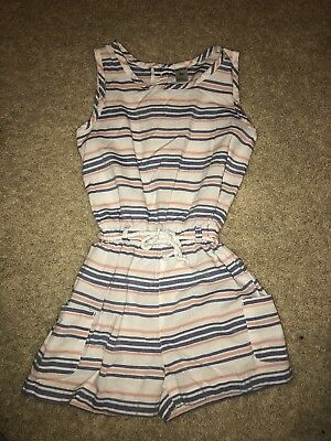Carter's Girls Size 6X Summer Romper EUC Striped