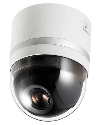 JVC VN-H657U 1080p 18x OPTICAL 360° PTZ PoE NETWORK INDOOR DOME SECURITY CAMERA